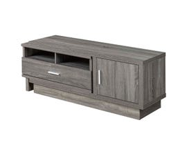 Brassex Wood 48' Expandable TV Stand in Grey 172004
