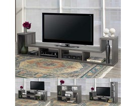 Brassex Multiple Configuration TV Stand in Grey