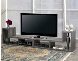 Brassex Multiple Configuration 66' Wood TV Stand in Grey 172119
