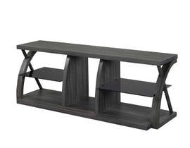 Brassex 60' Wood TV Stand in Grey 172234