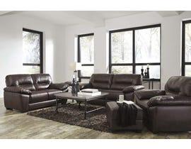Signature Design by Ashley Mellen Series 3 pc Sofa Set in Walnut 11740120-35-38