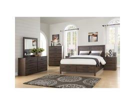 Mazin Rustic Collection 6-piece Queen Storage Bedroom Set in brown 1769Q