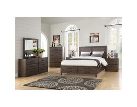 Mazin Rustic Collection 6-piece King Storage Bedroom Set in brown 1769K