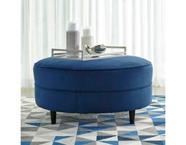 Signature Design by Ashley Enderlin Oversized Accent Ottoman in Ink 1780108