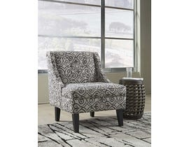 Signature Design by Ashley Kestrel Series Patterned Fabric Accent Chair in Wrought Iron 1810260