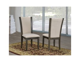 Brassex Ambrose Side Chair Grey Beige (Set of 2) 183SC