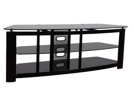 Sonora Flat Panel TV Stand in Glossy Black 190M65-D-N