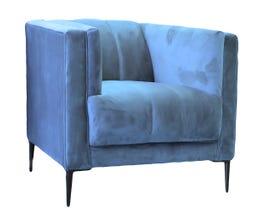 Edgewood furniture Studio Juliette Series Chair in Royal Blue/Roxboro Ocean 1925 - 130872