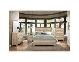 Mazin Lonan Light Elm King Bedroom Set 1955K