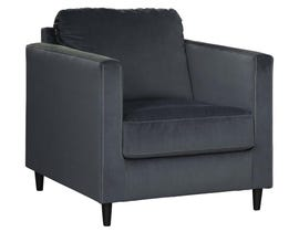 Signature Design by Ashley Kennewick Series Fabric Chair in Shadow 1980320