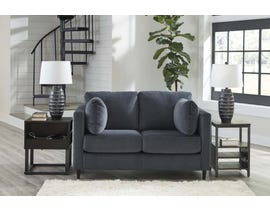 Signature Design by Ashley Kennewick Series Fabric Loveseat in Shadow 1980335