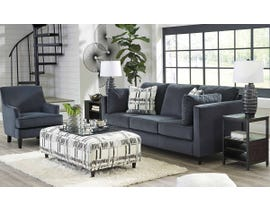 Signature Design by Ashley Kennewick Series 3pc Upholstery Set w/Ottoman in Shadow 19803-38-21-08