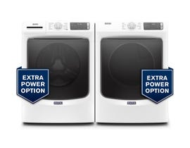 Maytag Laundry Pair 5.2 cu. ft. Washer MHW5630HW & 7.3 cu. ft. Electric Dryer YMED5630HW