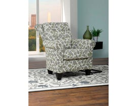 SBF Upholstery Lena Collection designer fabric roll back  accent chair 2021