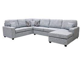 Edgewood Furniture 3 piece LHF Sofa Sectional in Safari Sodalite 2065