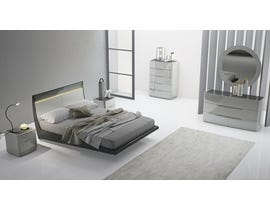 K Elite Asher Series Bedroom Set in Light Grey 208