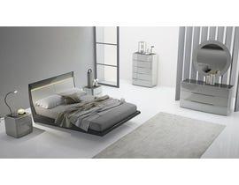 K Elite Asher Series Queen Bedroom Set in Light Grey 208-QBS