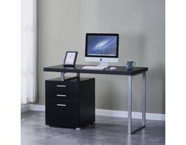 Brassex Verona Series Office Desk in Black 2196-BK