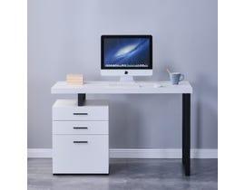 Brassex Verona Series Office Desk in White 2196-WH
