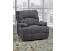 Brassex Houston Power Recliner Chair Grey SA2200-C-GR