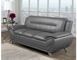 Brassex Riley 3-Seater Sofa in Grey 2220S