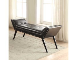 K ELITE DELIA Bench in Black 22592-04