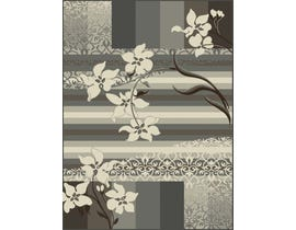 Midas 5X8 Area Rug in Grey / Ivory 2365-NN155