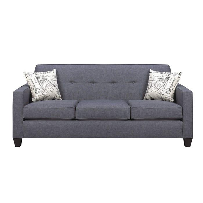 A-Class Fabric Sofa in Royal Grey 3300