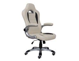 Brassex Aria Series Gaming Chair in Beige 246-BEI