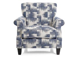 Decor-Rest Percy Fabric Chair in Frost Navy 2538