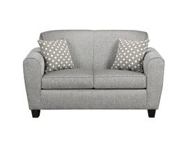 A-Class Fabric Loveseat in Stone Grey 6500