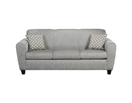 A-Class Fabric Sofa in Stone Grey 6500