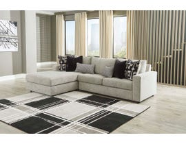 Signature Design by Ashley Ravenstone Series 2pc Sectional in Flint 26905-16-67