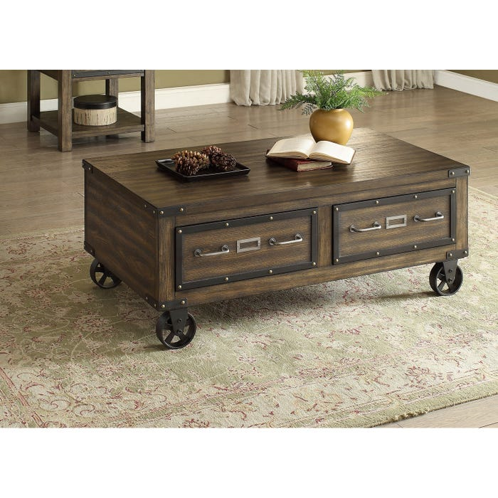 Brassex Ambassador Coffee Table Espresso 273-02