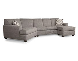 Decor-Rest Fabric Sectional 2805