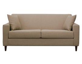 Edgewood Furniture Carl Series Fabric Sofa Bed in Montana Mocha 2844