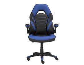 Brassex Mia Series Gaming Chair in Black/Blue 2857