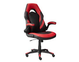 Brassex Mia Series Gaming Chair in Black/Red 2857