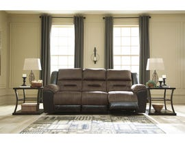 Signature Design by Ashley Reclining Sofa in Chestnut 2910188