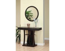 Brassex Console Table Dark Cherry 29308