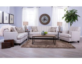 Decor-Rest Paul Collection 3-PC Sofa Set in Espresso 2932