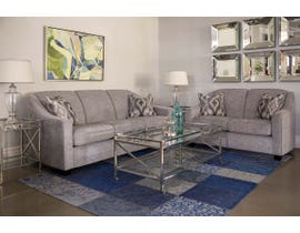 Decor-Rest 3pc Fabric Sofa Set in Rico Grey 2934