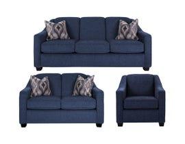 Decor-Rest 3pc Fabric Sofa Set 2934