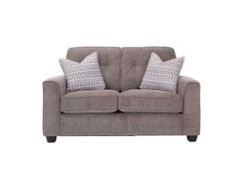 Decor-Rest Rico Collection Loveseat in Pewter 2967