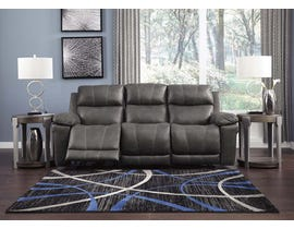 Signature Design by Ashley Power Reclining Sofa in Midnight 3000415