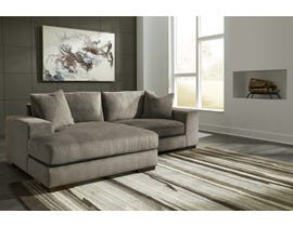 Signature Design by Ashley 2-Piece Sectional with Chaise Graphite finish 30304S2