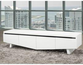 Brassex Houston Series 70 inch TV Stand with Storage in White 3040-70