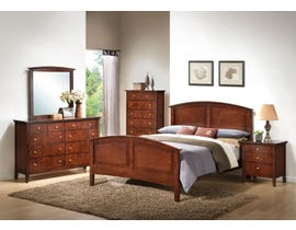 Lifestyle Whiskey Cherry 6-Piece Double Bedroom Set C3136A