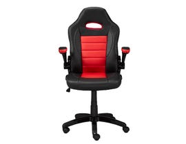 Brassex Office Chair in Red 3288-RLK