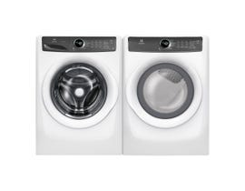 Electrolux Laundry Pair 4.3 cu. ft. Washer EFLW427UIW & 8.0 cu. ft. Electric Dryer in White EFMC427UIW